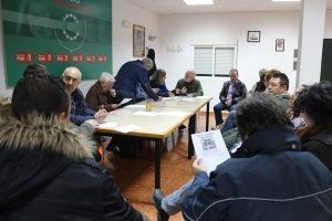 La asamblea local del PSOE. Foto de Miguel A. Delgado
